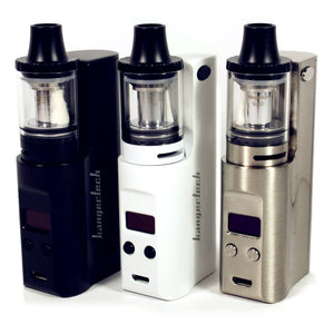 KangerTech JUPPI 75W Starter Kit with JUPPI Tank - 3.0ml- 7.0ml-Black