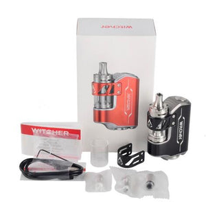 Rofvape Witcher Box Mod Starter Kit con Witcher 5,5ML Atomizzatore