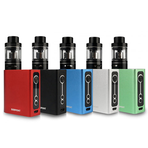 Wotofo Serpent 50W 2000mAh/5ML Box Mod Full Kit con Serpent Sub Atomizzatore