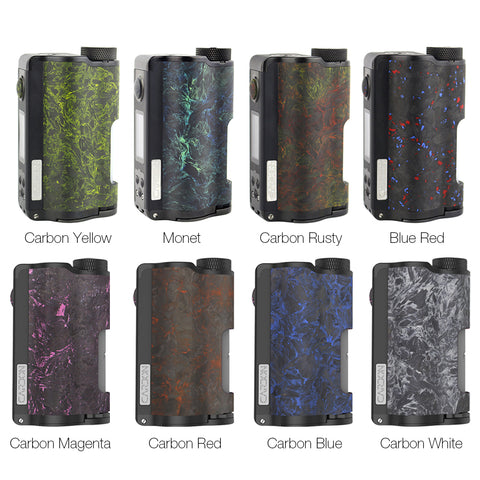 Dovpo X TVC YIHI TopSide Dual Carbon Squonk Mod 200W