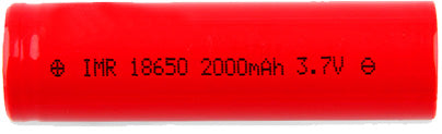 IMR18650 High Drain Li-ion Batteria 25A 2000mAh
