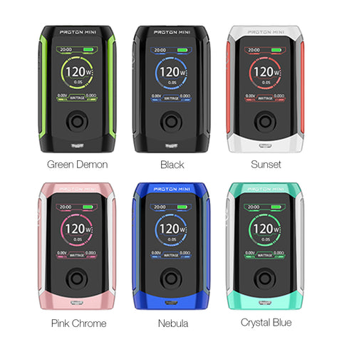 Innokin Proton Mini TC 120W Box Mod 3400mAh