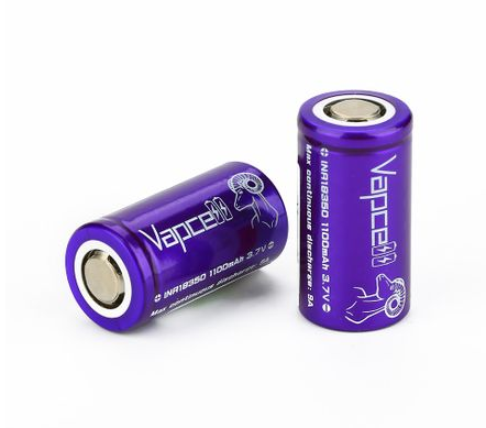 Vapcell INR18350 High-drain Li-ion Batteria 9A 1100mAh