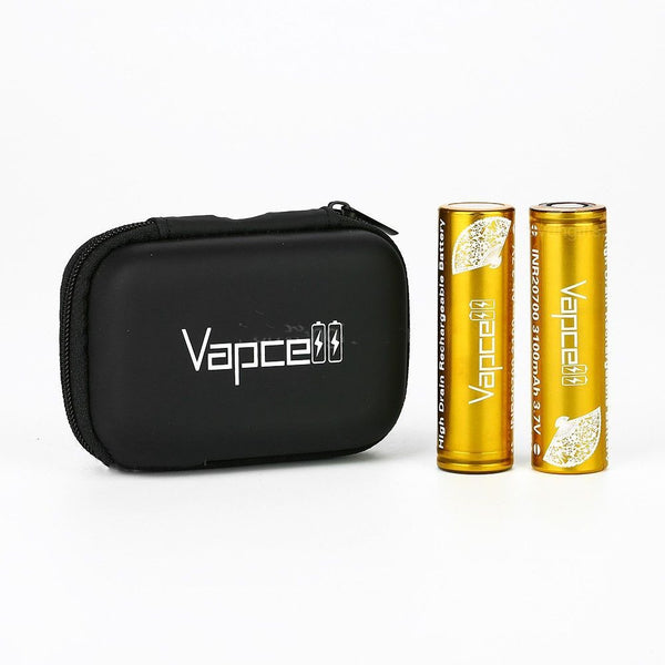 Vapcell INR20700 High-drain Li-ion Batteria 30A 3100mAh 2pcs