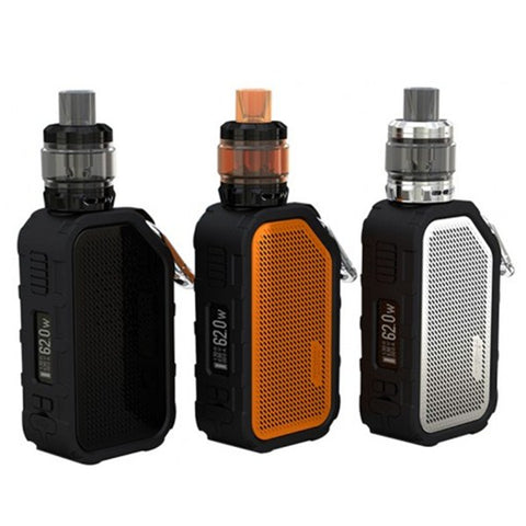 Wismec Active 80W blutooth Music Starter Kit con 4,5ML Amor NS Plus Atomizzatore