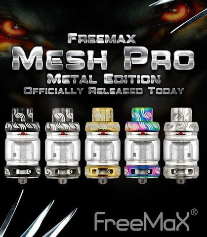 Freemax Mesh Pro Metal Edition Sub Ohm 5/6ML Atomizzatore