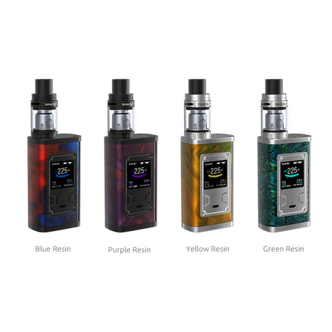 Smok Majesty Resin 225W Starter Kit con TFV8 X-Baby Sub Ohm Atomizzatore (4ML)