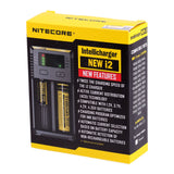 Nitecore New i2 Caricabatterie Intellicharger EU/US TC MOD Batteria