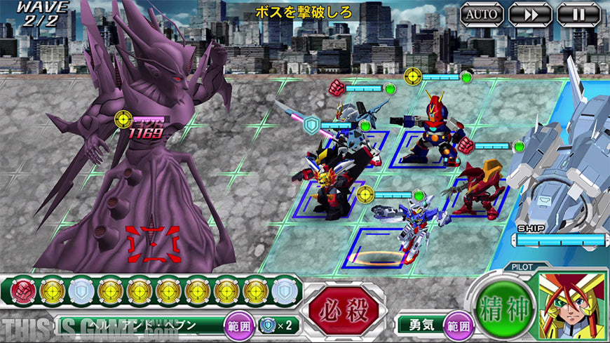 fight with amazing mecha in super robot taisen x Ω for itunes