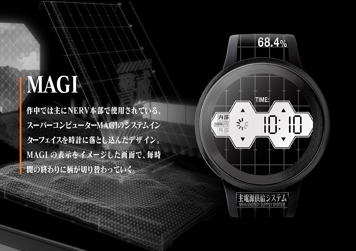 FES Watch U Evangelion Edition 06
