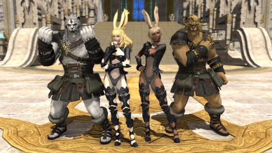 New Races, Classes and Quests in Final Fantasy XIV