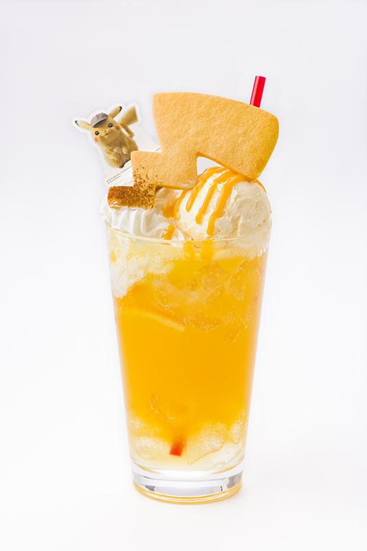 Detective Pikachu's Electric Shock? Float Drink