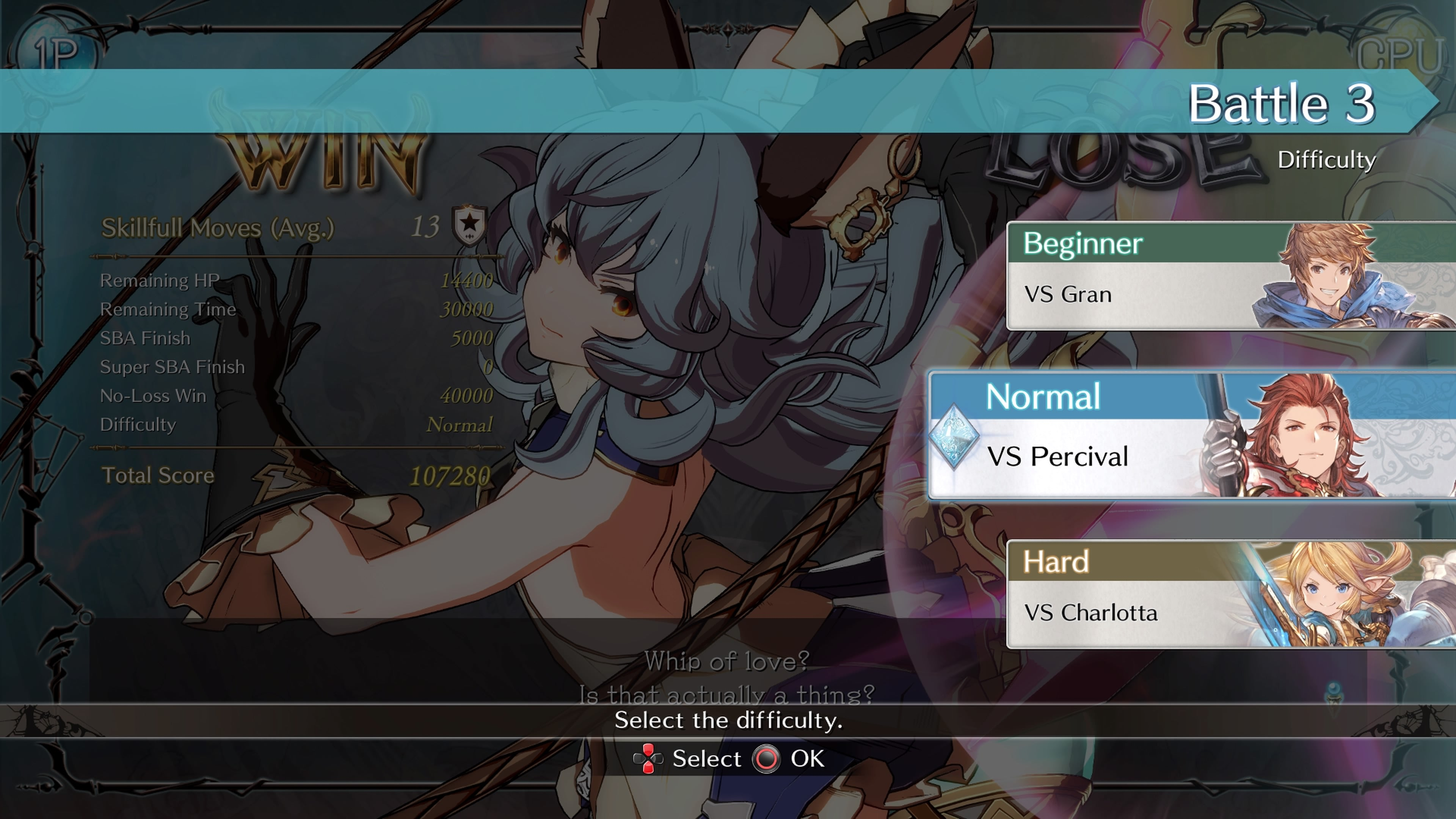 Granblue Fantasy Versus Arcade Mode