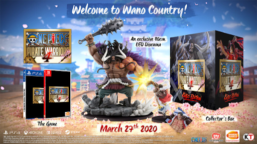One Piece: Pirate Warriors 4 Details Collector Edition