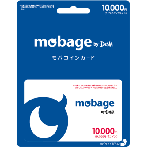 Mobage MobaCoin Card 10000JPY