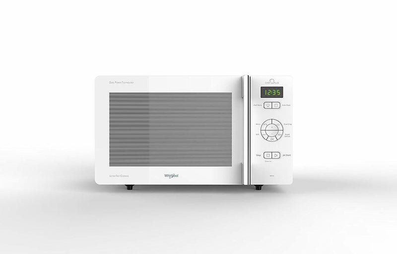 Whirlpool MCP345WH Mikrowellenherd Chef Plus + Grill, 25 Liter Weiß //4-nw - Extreme Vision GmbH
