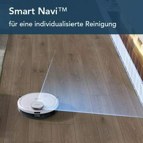 ECOVACS Robotics DEEBOT OZMO 900 Saug- & Wischroboter Staubsauger Weiß /10-nw - Extreme Vision GmbH