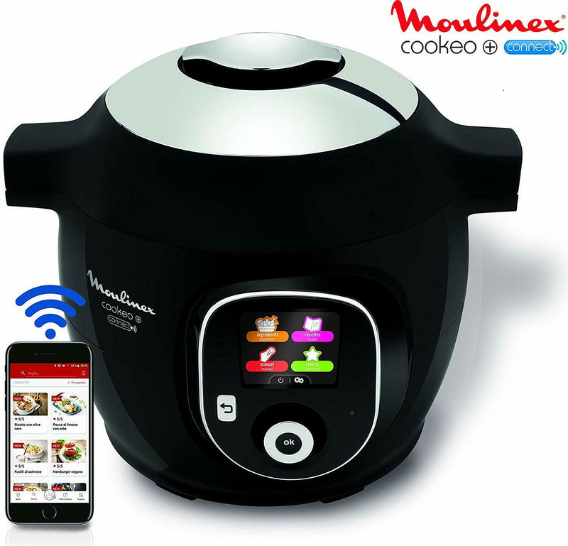 Moulinex Intelligenter Multicooker mit Cookeo + Connect-Anwendung /A133-7nw - Extreme Vision GmbH