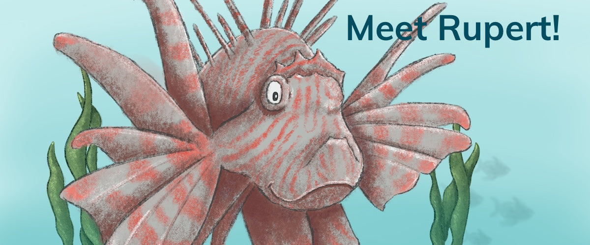 R is for Red Lionfish