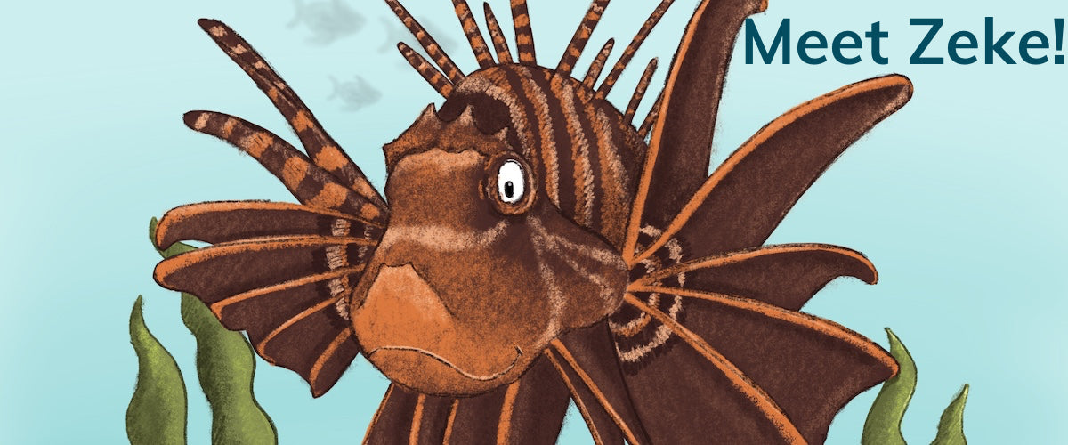 Z is for Zebra Lionfish