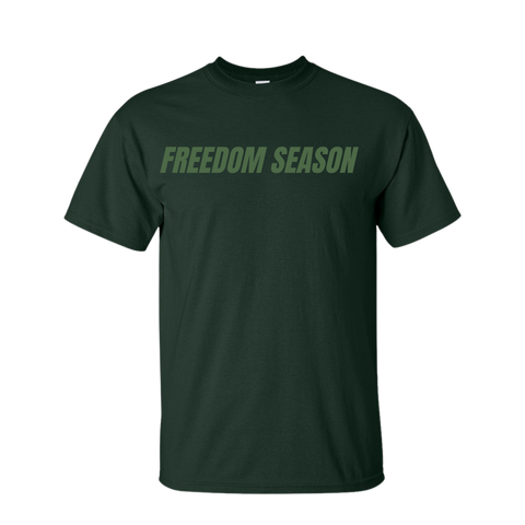 Freedom Season Forest Crewneck