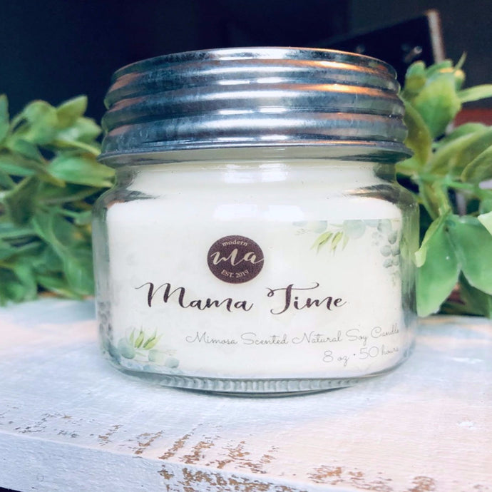 'Mama Time' 8oz Soy Candle