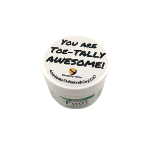 Custom Foot Cream Gifts (10 total)