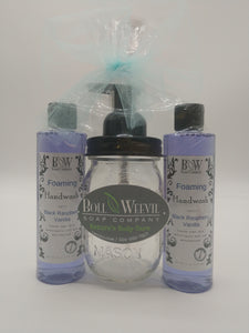 Foaming Hand Wash Mason Jar Gift Set