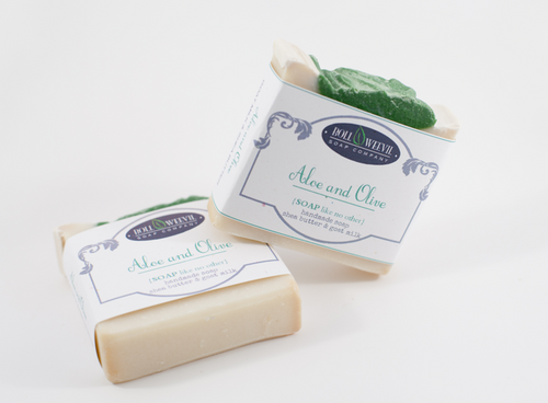 Aloe & Olive Goat Milk Soap Bar