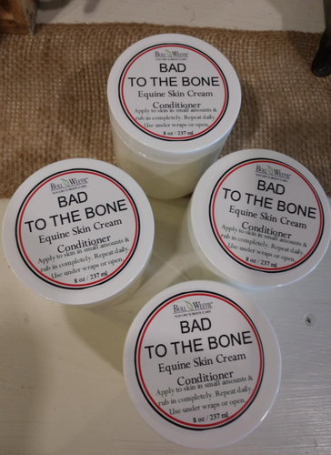 Bad to the Bone Equine Skin Cream Conditioner 8 oz