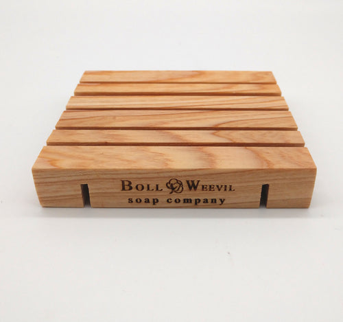 Wooden Soap Rest