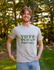 "Gregg ""Vote Ecologically"" Short Sleeve Crew - Yes And Apparel"