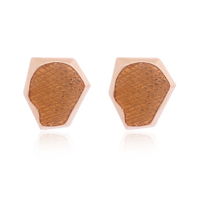 Yellow Gold Aria Studs