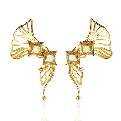 Iaira earcuffs in Yellow Gold