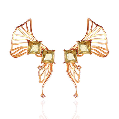 Iaira Earcuffs in Rose Gold