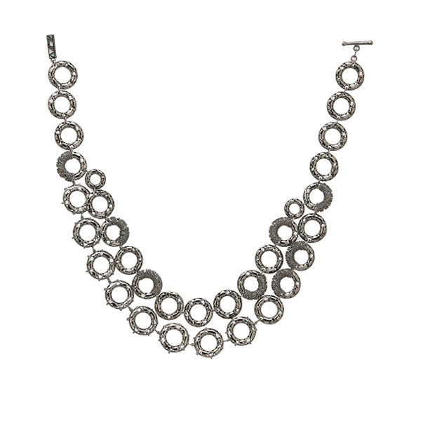 Crescent Layered Necklace