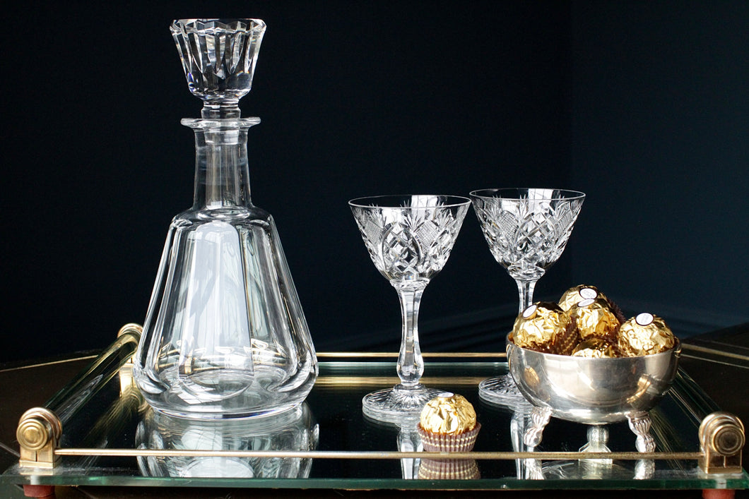 Stunning Baccarat Crystal Decanter