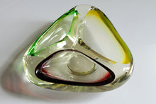 Load image into Gallery viewer, Mid-Century Murano Glass Ashtray