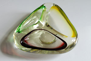 Mid-Century Murano Glass Ashtray