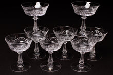 Load image into Gallery viewer, Val St Lambert 'Heidelberg' Crystal Champagne Coupes