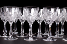 Load image into Gallery viewer, Val St Lambert Crystal Wine Glasses