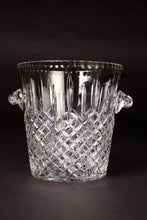 Load image into Gallery viewer, Val St Lambert Cut Crystal Champagne Bucket