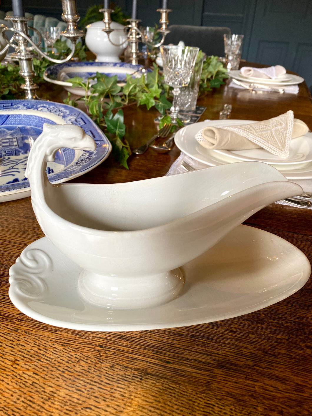 Gravy Boat by Limoges Phoenix Design