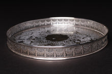 Load image into Gallery viewer, Small Silver Plated Tray