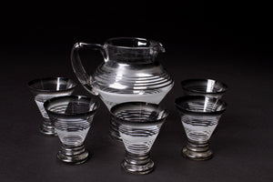 Mid-Century Cocktail Jug and Glasses set