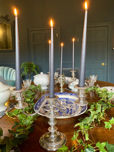 Victorian Silver Plated Candelabra's
