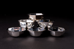 Silver Snack Bowls