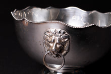 Load image into Gallery viewer, Silver Champagne Ice Bucket with Lion Heads