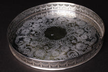 Load image into Gallery viewer, Antique Silver Plated Tray