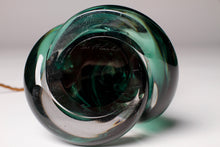 Load image into Gallery viewer, Emerald Green Val St Lambert Lamp Base